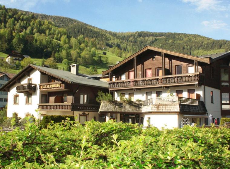 Urlaub in Bad Kleinkirchheim - Apartments Bad Kleinkirchheim - Haus Kaiserburg – Wasserbrunnenweg 3
